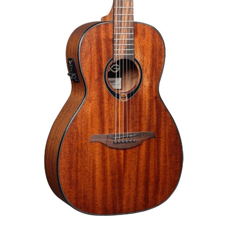 Lag Tramontane T90PE Parlor Acoustic-Electric Guitar