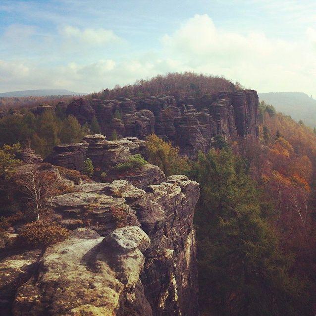 Labské pískovce #czech#nature #wildlife  #rocks #zvejka