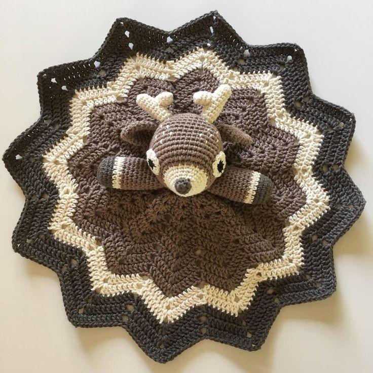 Crocheted Deer Lovey
