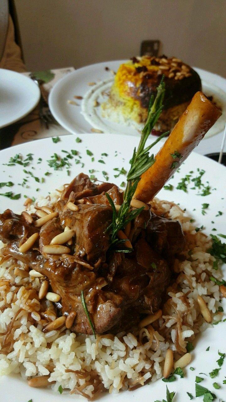 Villa Mama S Lamb Shank Bahrain Food Arabic Food Lamb Shanks