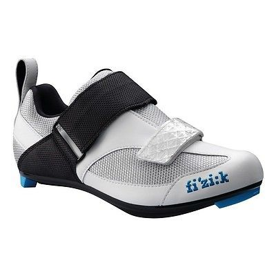 "#Fizik ladies triathlon shoe ""k5 donna"" #mod.16 #silver/white/blue, size 41 44721,  View more on the LINK: 	http://www.zeppy.io/product/gb/2/272339308902/"
