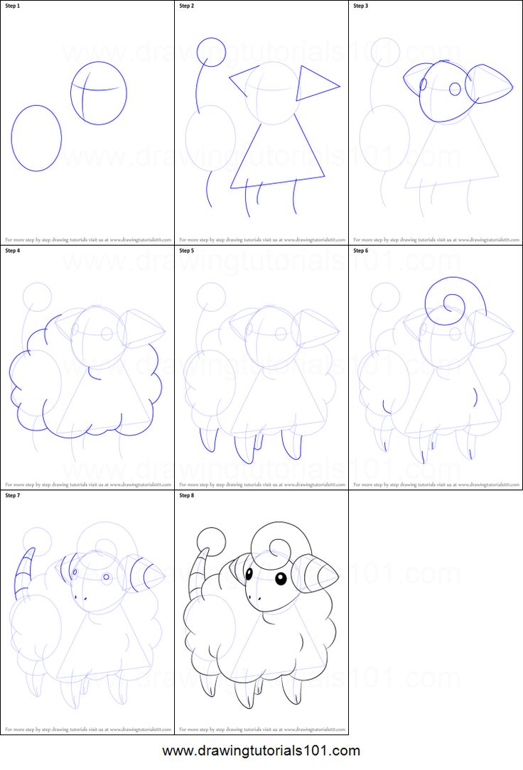 how to draw pikachu step by step for beginners