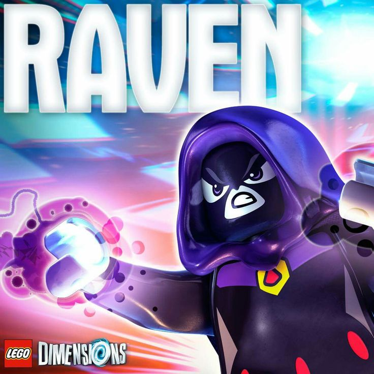 Promotional image from the Lego Dimensions Facebook page confirms Teen Titans Go's Raven as a playable character