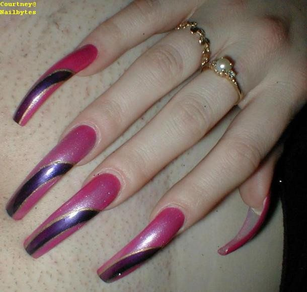142 best I like acrylic nails super long! images on Pinterest | Long ...