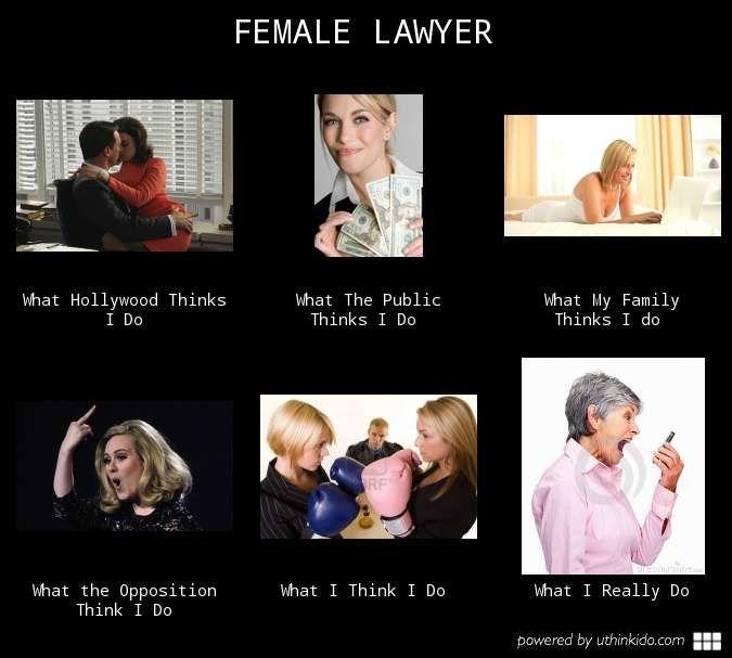 Female Lawyer Law school humor, Law school memes, Lawyer