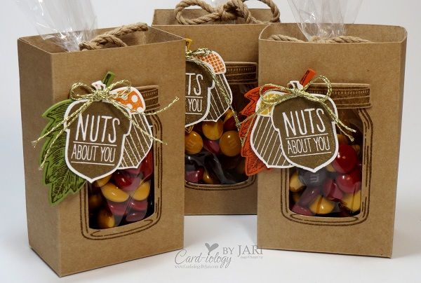 Stampin' Up! Jar of Love Fall Treat Box