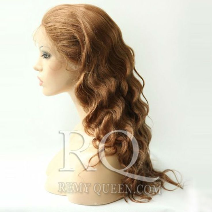 136.00$  Buy here - http://ali08b.worldwells.pw/go.php?t=1275507952 - REMY QUEEN HAIR Glueless Full Lace Wigs with Baby Hair 30#  Medium Auburn Body Wave120% Density Hand Tied Wholesale Hair Wig 136.00$