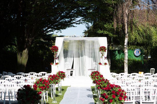 Décoration pour cérémonie mariage Juif, mariage Laïque, mariage Indien Houppa , Tente...