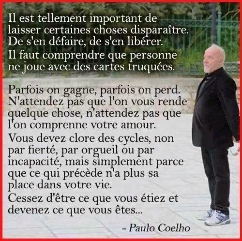 Citations option bonheur: Citation pour lâcher-prise du passé, Paulo Coelho