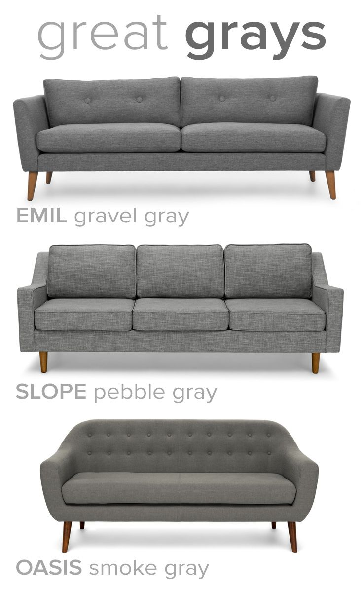 The easiest color to live with — GRAY.