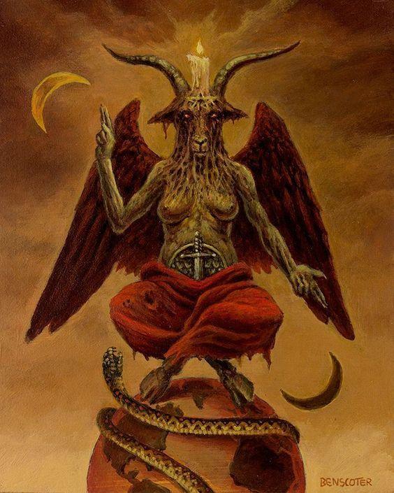 Сатана бафомет картинки