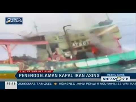 Jokowi SIKAT ABIS Pencuri Ikan Di Perairan Indonesia