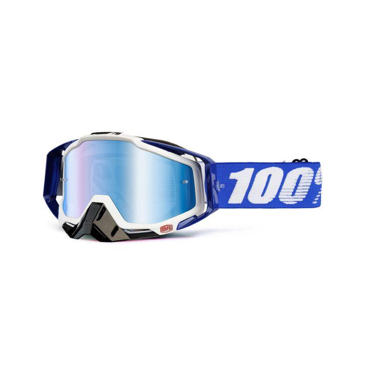 2014 100 Racecraft Motocross Goggles - Cobalt Blue - 2014 100 Racecraft Motocross Goggles - 2014 100 Motocross Goggles - 2014