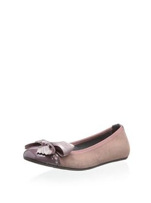 58% OFF Eli 1957 Kid's Ballet Flat with Bow (Malva)