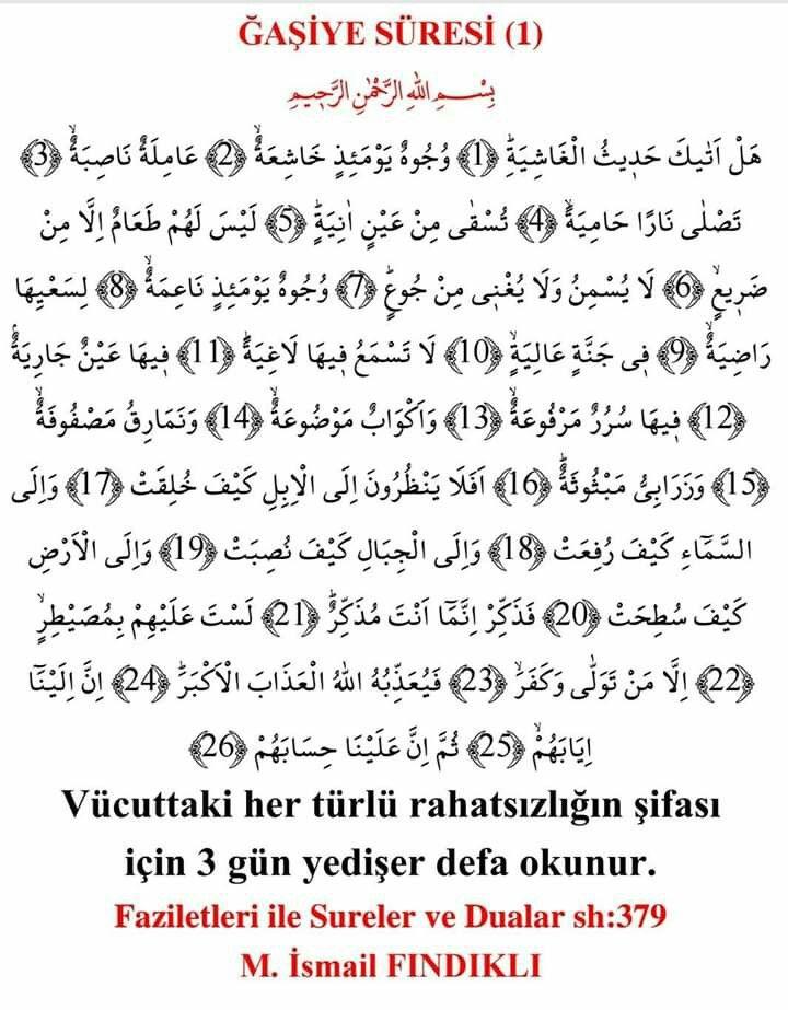 Birgul Baspinar Orakci Adli Kullanicinin Sifali Dualar Panosundaki Pin Dualar Islam Bilgi