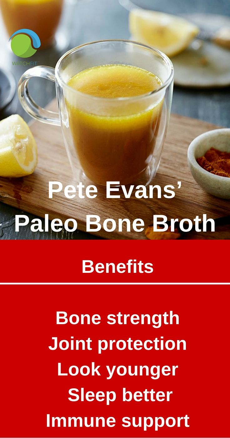 Aussie Pete Evans is a global leader in paleo eating and his TV shows have been successful all over the world. The celebrity chef is a massive advocate of healthy and active living as well as great nutrition. #PeteEvans #paleodiet #bonebroth