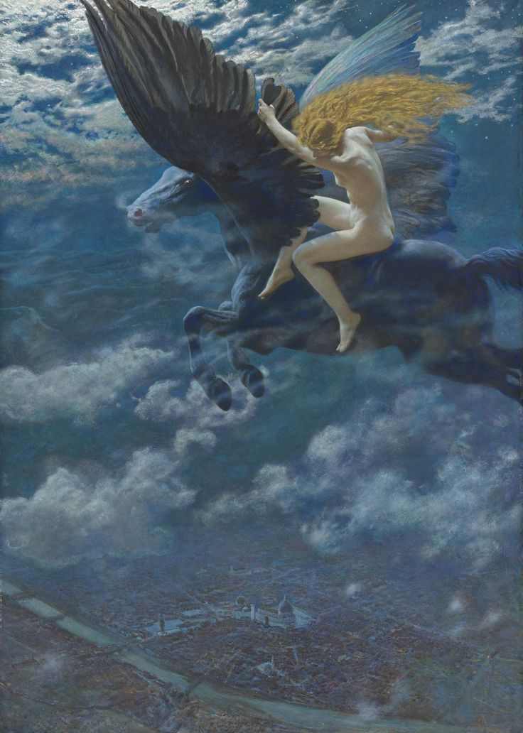 the groovy agitator - blue-storming: Edward Robert Hughes, Dream Idyll...