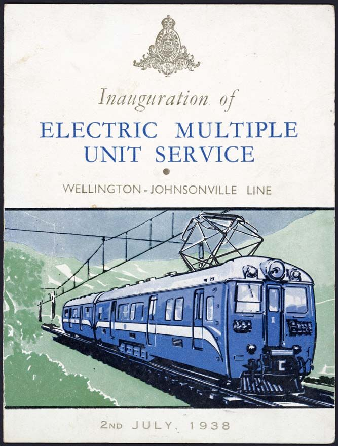 This invitation to the opening ceremony of the johnsonville electric this invitation to the opening ceremony of the johnsonville electric multiple unit service in july 1938 was another example of the publicity materi stopboris Images