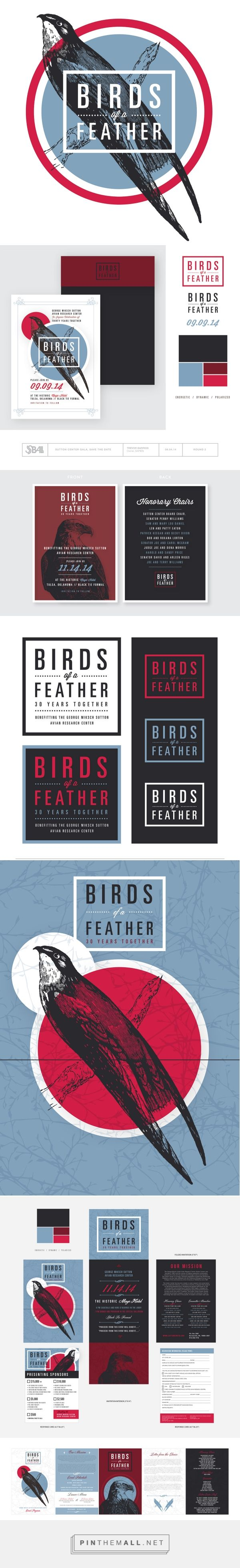 Birds of a Feather Gala by Sean Ball | Graphic Design