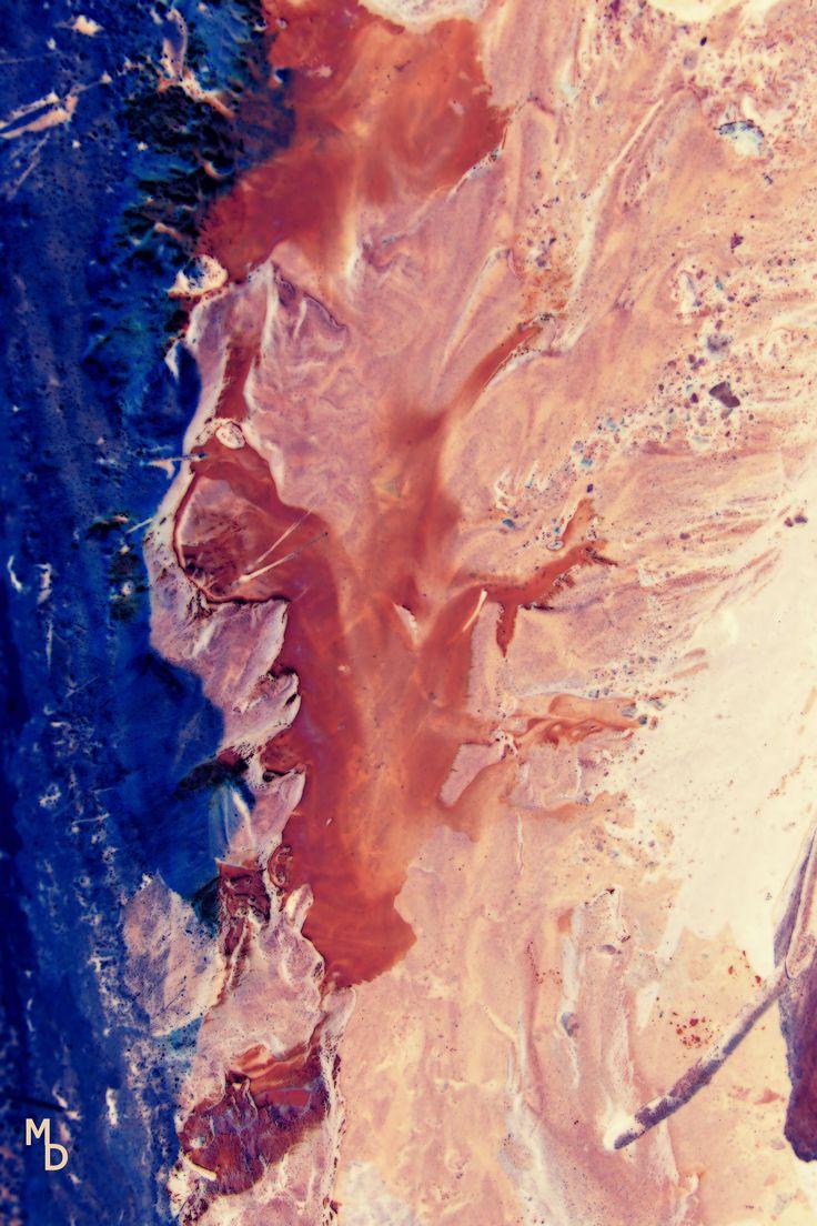 Coulée colorée © Marie Deschene www.mariedeschene.com