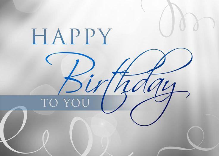 Hazy Gray Birthday - Birthday Cards from CardsDirect