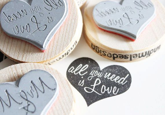 All you need is love stamp.
