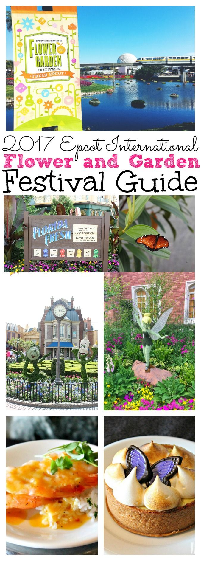 2017 Epcot International Flower and Garden Festival going on right now! Check out our guide to this year's food, topiaries, and events! - abccreativelearning.com