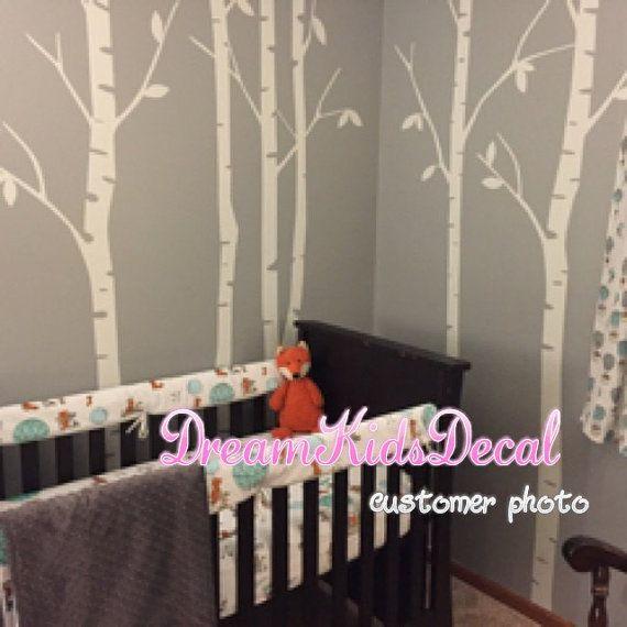 Kinderzimmer wandgestaltung wald  Die besten 25+ Wald babyzimmer Ideen auf Pinterest ...