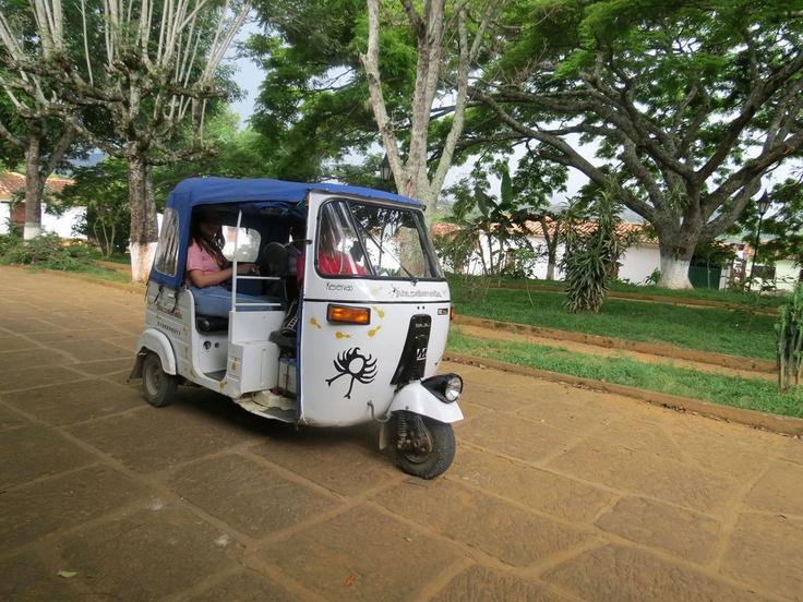 Mototaxi Barichara