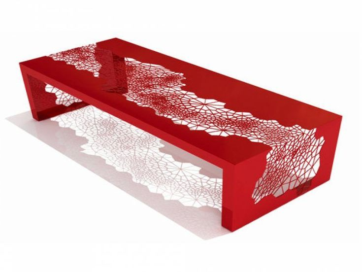 cool red coffee table