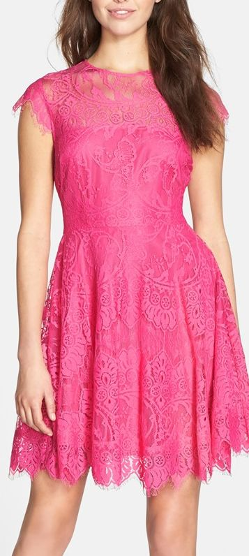 pink lace!