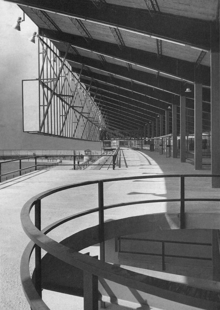 Antonio Bonet > Canódromo Meridiana. Barcelona, 1963 | HIC Arquitectura