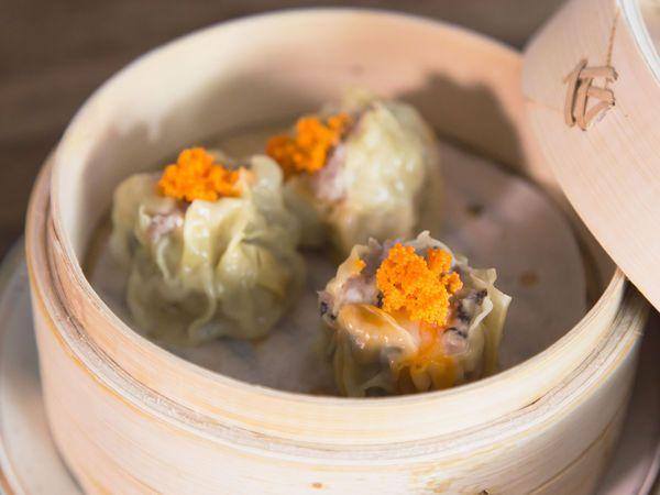 Masaharu Morimoto's Pork and Shrimp Shumai - steamed dumplings that don't need folding | SAVEUR