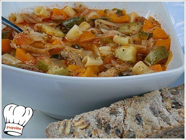 ΜΙΝΕΣΤΡΟΝΕ ΛΑΧΑΝΙΚΩΝ!!! | Νόστιμες Συνταγές της Γωγώς