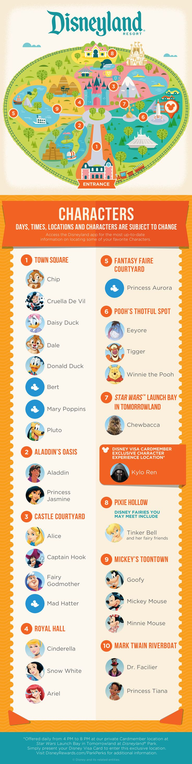 *m. With this guide, you can find the Character Experiences waiting for you at Disneyland® Park!