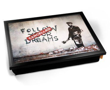 Banksy Dreams Cancelled Cushion Lap Tray by KICO KICO https://www.amazon.ca/dp/B01N55SRQ4/ref=cm_sw_r_pi_dp_x_87O0ybJRC1ZGC