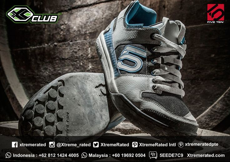 Five Ten Freerider Good for all-day riding performance Available in all XCLUB leading stores  #xtremerated #xclub #fiveten #shoes #freerider