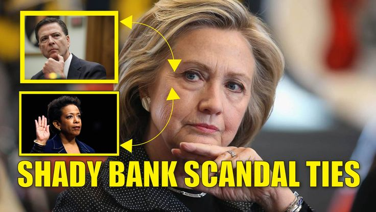 Corrupt HSBC Global Bank Exec Arrested, Links to Hillary, James Comey and Loretta Lynch