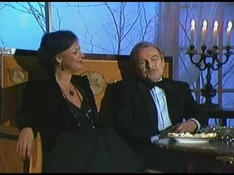 Jana Hlaváčová & Luděk Munzar - Bílý vánoční slon (Ballada ratuszowego zegara) 1988