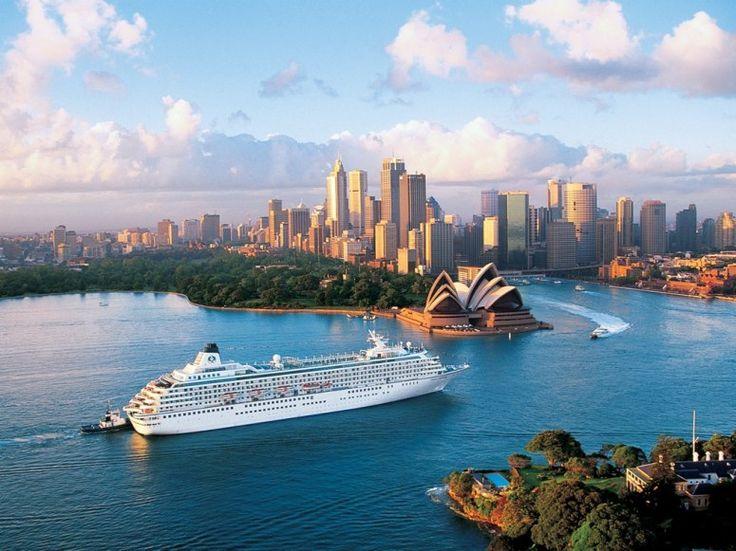 Crystal Cruises... Australia, One Day!!