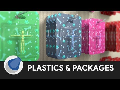 Plastics & Product Packaging - Cinema 4D Tutorial - YouTube