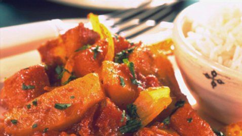Chicken Curry with Vegetables and Rice - RTE Food