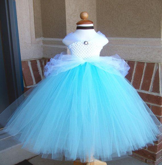 Cinderella Tutu Dress by JustaLittleSassShop on Etsy, $65.00