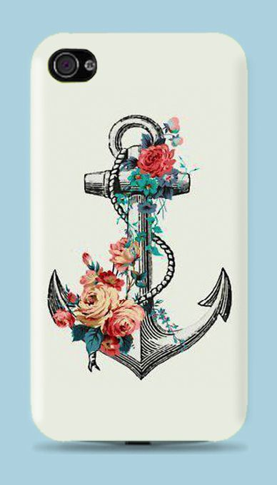 Anchor hard case for iphone 5 - iphone 4 - iphone 4s - Samsung S3 - Samsung S4 - Samsung Note 2
