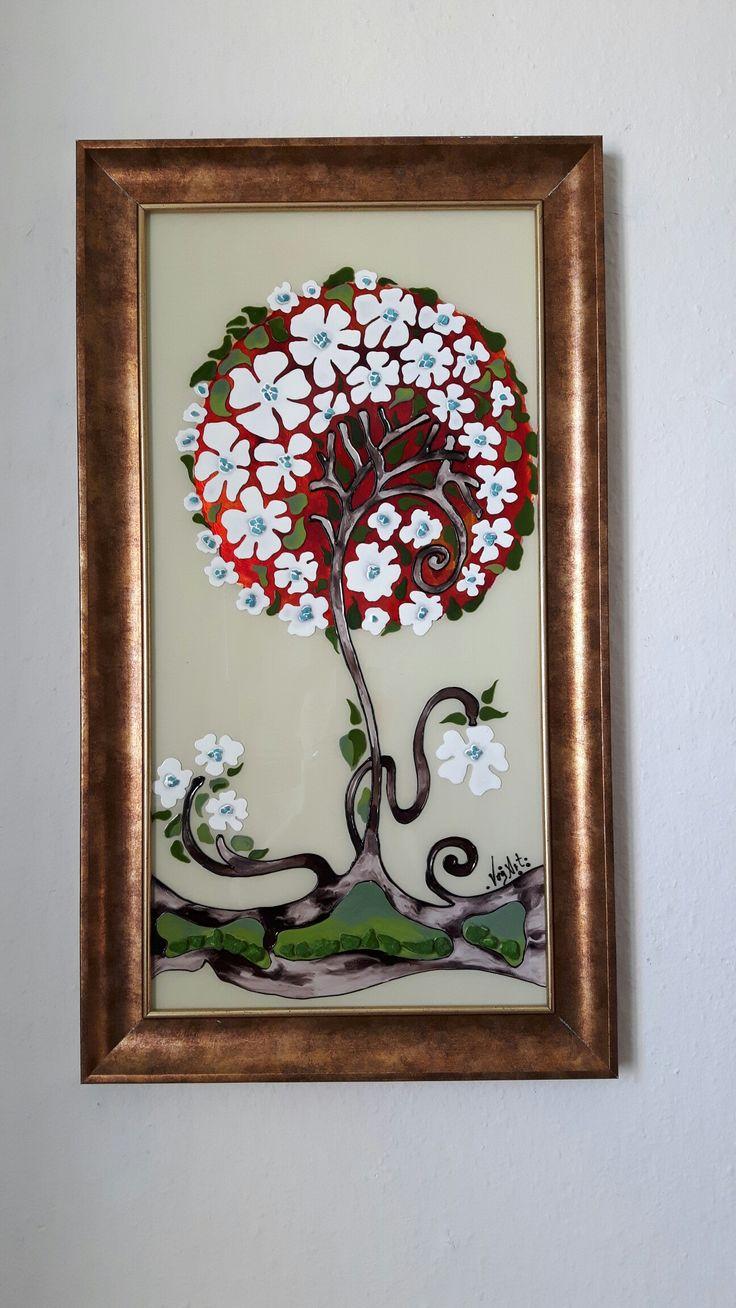 Glaspaint, glasmalerei,vog art galery, orolya vadasz,