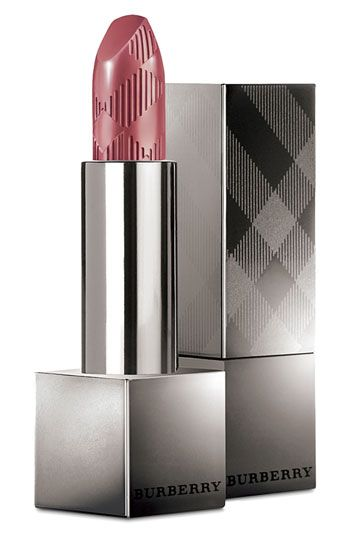 Burberry Beauty 'Lip Cover' Soft Satin Lipstick in Rosewood. On my makeup