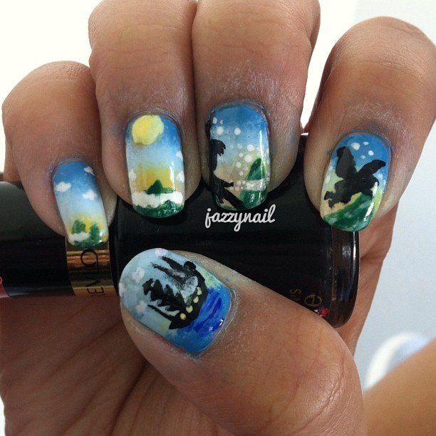 Peter Pan Nails: 77 Best Images About Disney Nails On Pinterest