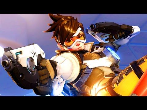 Toy box kid and Toy box dad play Blizzard's Overwatch! The time we jump right in against the AI and try out a bunch of different heroes.