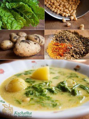Kuchařka ze Svatojánu: CIZRNOVÁ POLÉVKA S MANGOLDEM