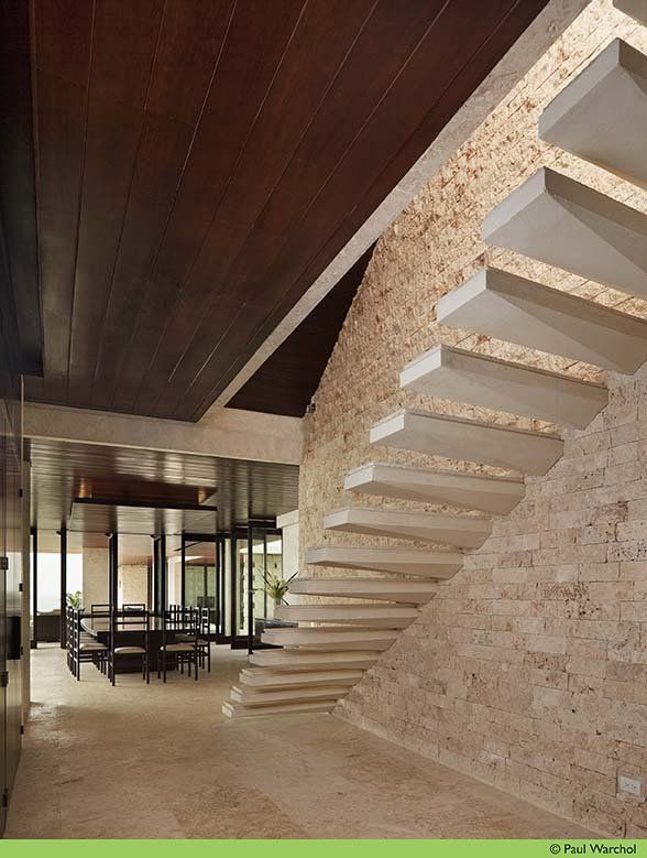 floating stairs......luv! (although they look a little dangerous seeing as though there is no railing)